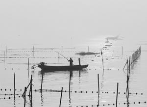 剪影贡湖湾