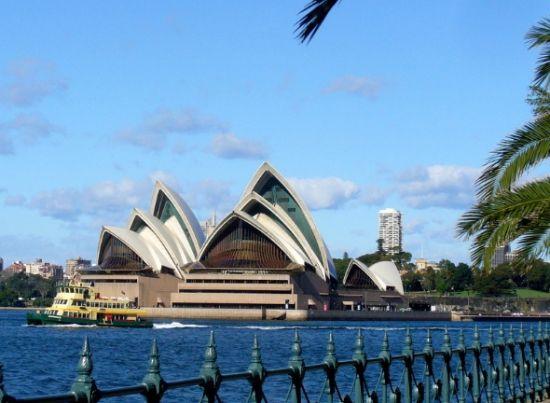 直到宏伟的悉尼歌剧院都变成微缩