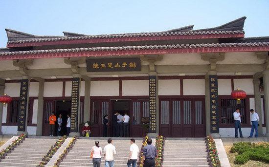 狮子山汉墓入口-一座城池俩汉墓 徐州地下文化艺术宝库探秘