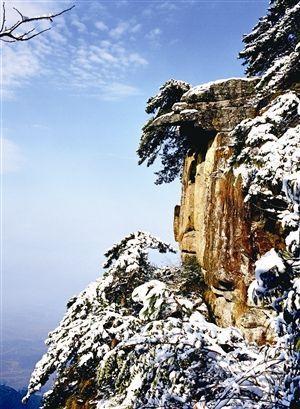 冰雪天地感受江西庐山的冬季恋歌(组图)