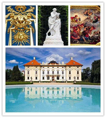 美丽的宫殿和壁画