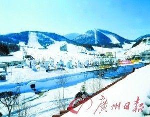 初雪飘醉游白色世界享受无限冬景