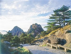 黄山:看冬日水墨画游奇俏中国风