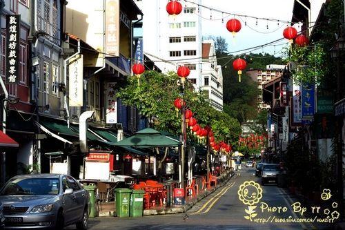 新加坡牛车水最有人情味的唐人街