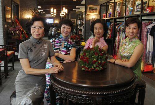 上海前世经典今生传奇的旗袍故事