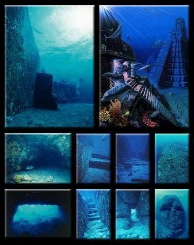 神秘的水下金字塔