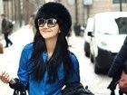韩雯雯初春街拍打造清新时尚写真