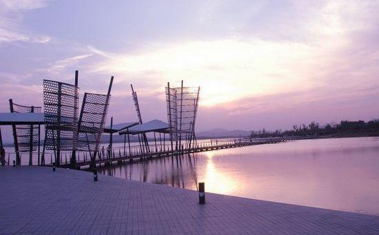 无锡蠡湖风景区logo