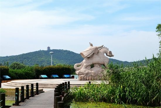 游无锡渤公岛生态园 春季踏青好去处