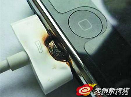 无ccc认证充电器存重大隐患 小心手机变手雷_无锡微