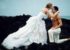 日本版《Vogue》新娘特刊浪漫婚纱写真