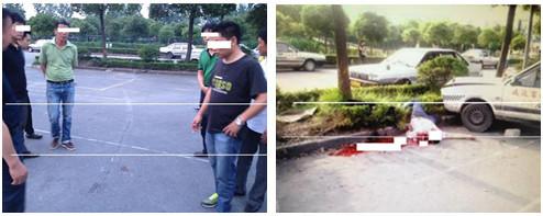上海驾校女学员练车撞死男学员 教练不在场