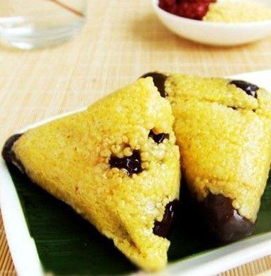 山东黄米粽子