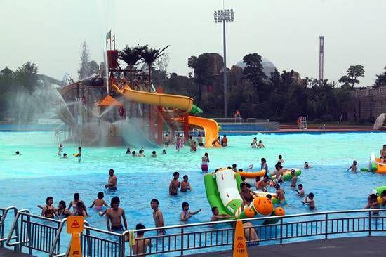 儿童乐园区与欢乐水世界七大