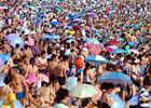 世界人口日盘点各国震撼人海奇景