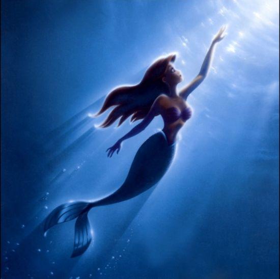 黑色童话之小美人鱼