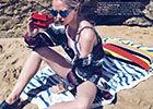 《Vogue》六月海滩假日缤纷时尚特辑比基尼来袭
