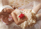 时尚美片:朦胧花之仙女