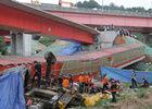 韩国首尔汉江傍花大桥坍塌