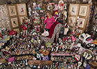 美国贵妇爱鞋成痴疯狂收集上万双高跟鞋