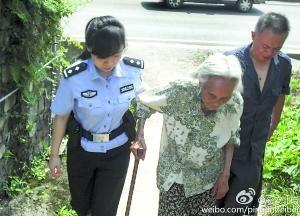 96岁母亲顶着高温为儿子买鸭炖汤昏倒路边