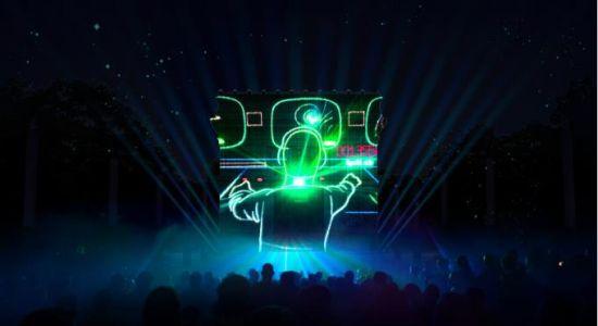 盛会开闭幕式舞台灯光设计工程的团队为音乐节设计