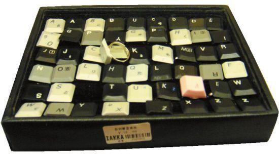 笔记本键盘戒指 19元 创意指数:★★★★