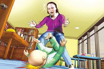 女子不满孩子哭闹将18月大儿子摔死