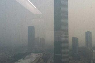 重度雾霾重回锡城