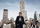 Rain纽约街头拍写真秀干练男人味