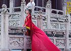 《兰陵王妃》曝光大婚照张含韵披古装嫁衣