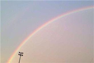 无锡雨后现彩虹