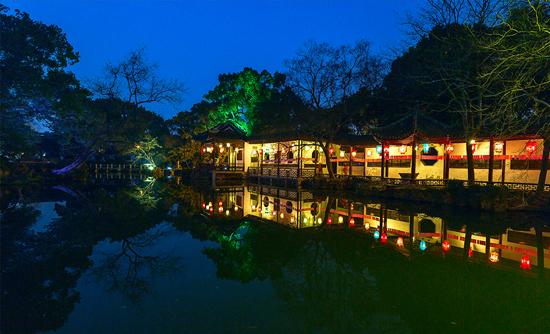 无锡锡惠公园夜景