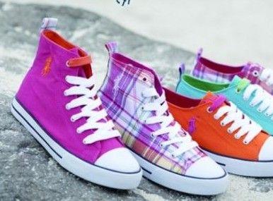 当色彩撞上鞋履