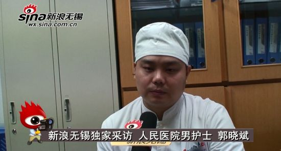 视频:无锡人民医院男护士郭晓斌:医护战线上的老兵